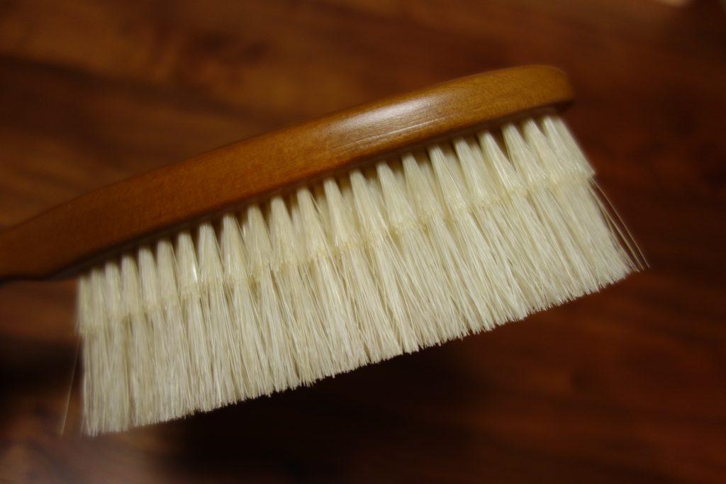 江戸屋のカシミヤブラシは二段植毛