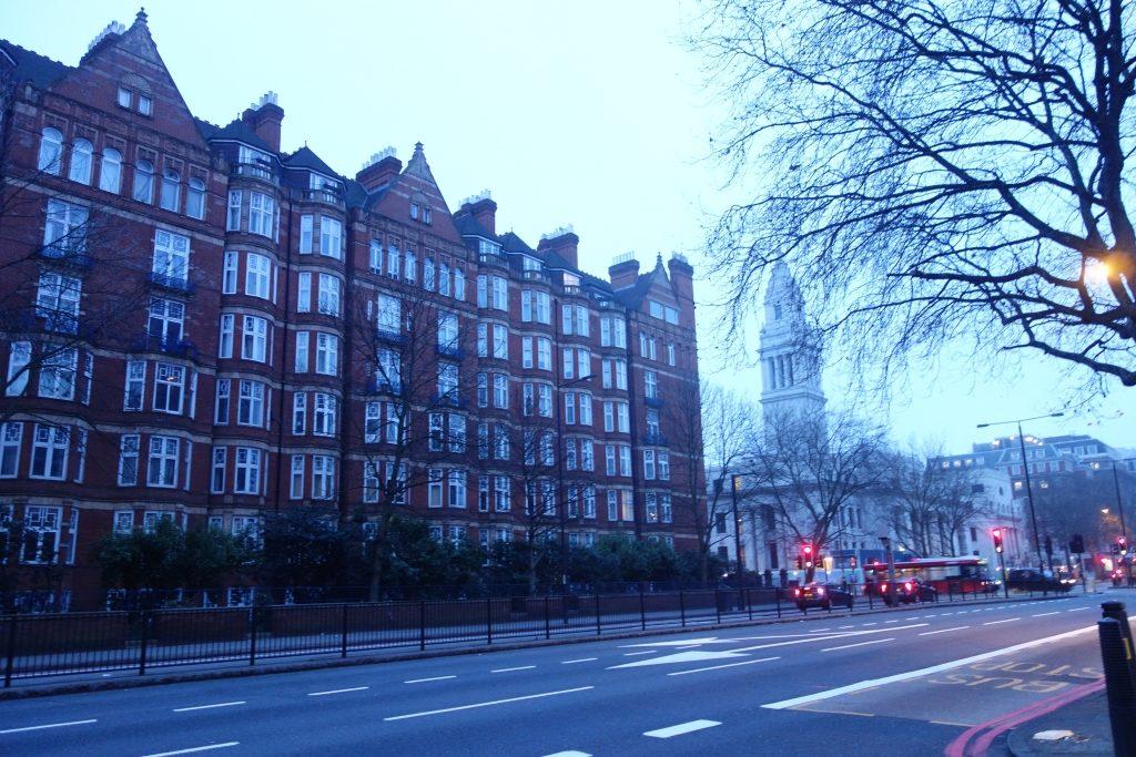 朝方のロンドン
