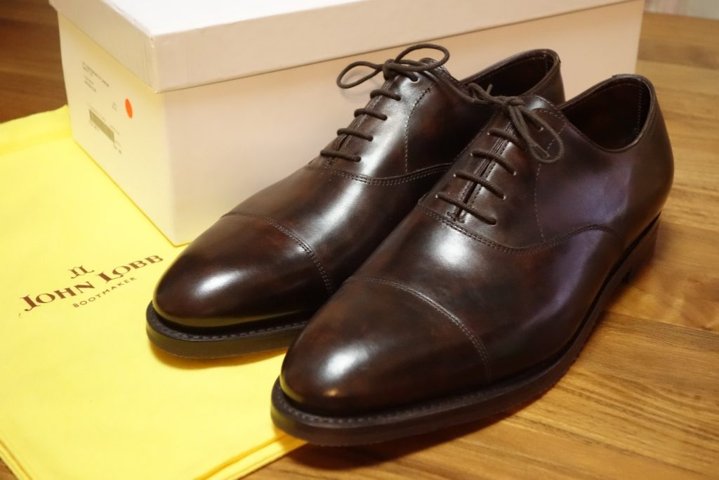 Johnlobb CITY II MUSEUM CALF Dark Brown