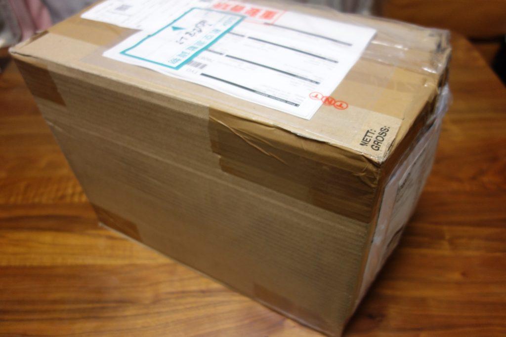 チャーチから届いた国際郵便
