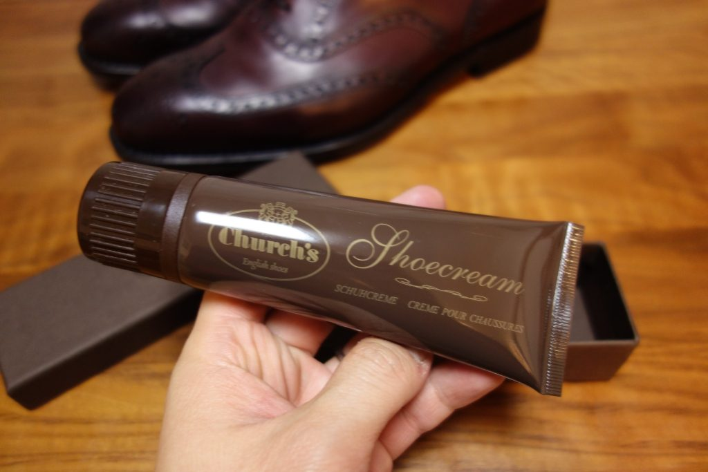 Church's Applicator shoe cream Burgundy