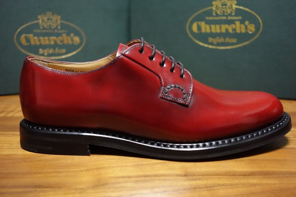 Church's Shannon cherry red