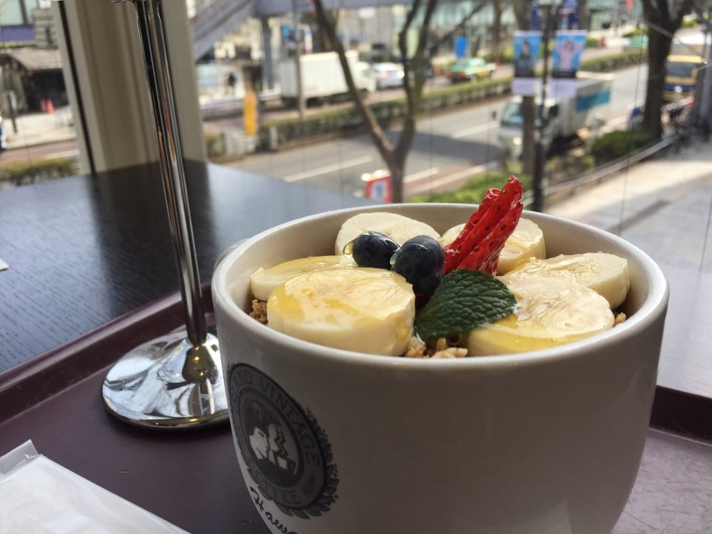 アイランドビンテージコーヒー 表参道店のアサイーボウル
