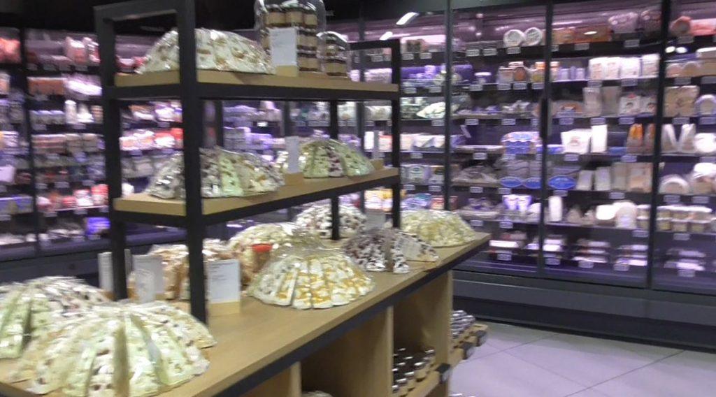 ギャラリーラファイエット グルメ館のチーズコーナー