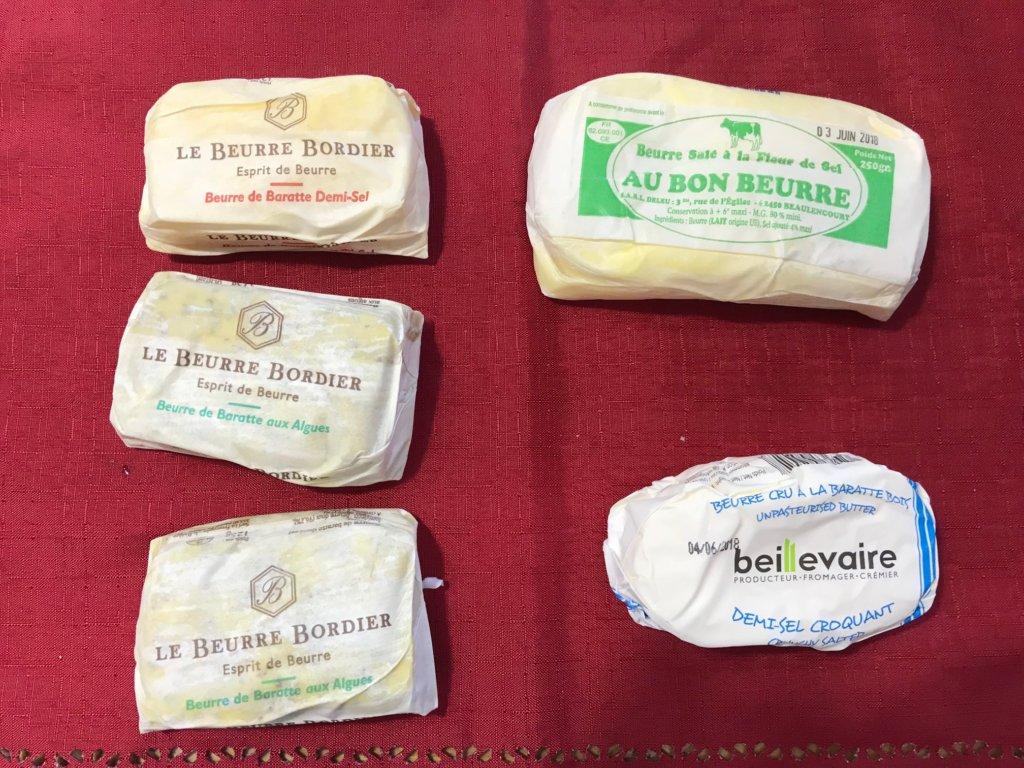パリで買ったバター