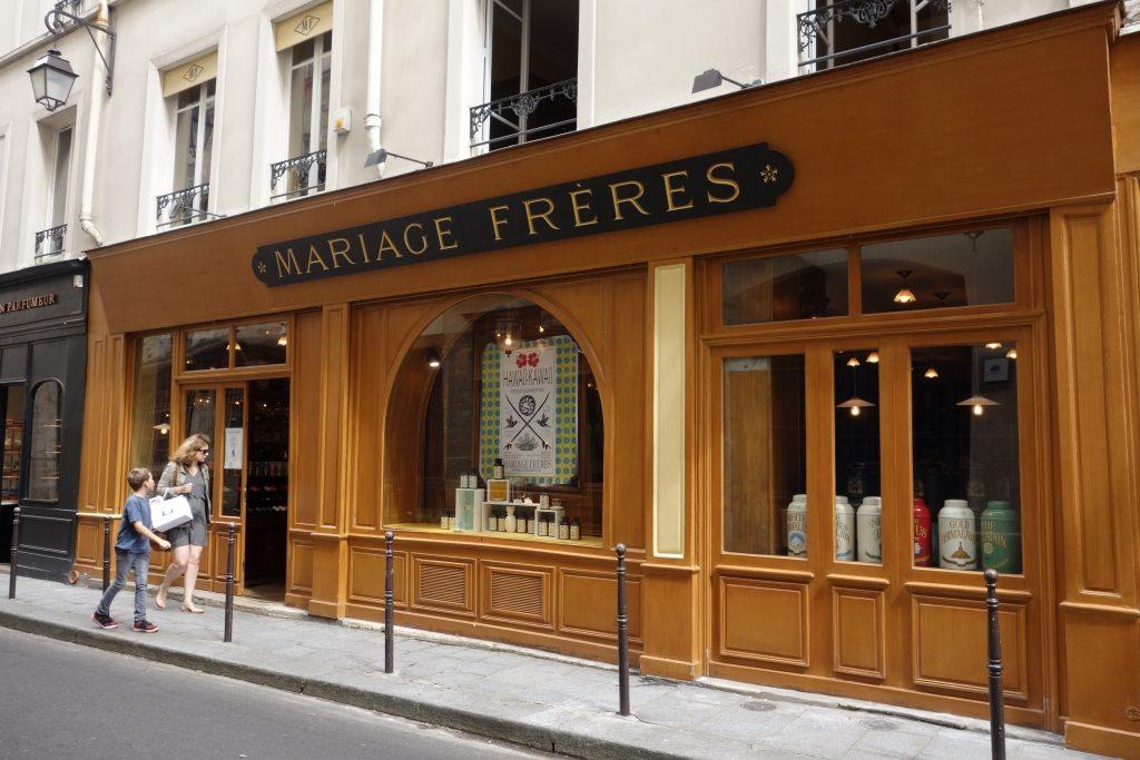 Mariage Freres パリ本店