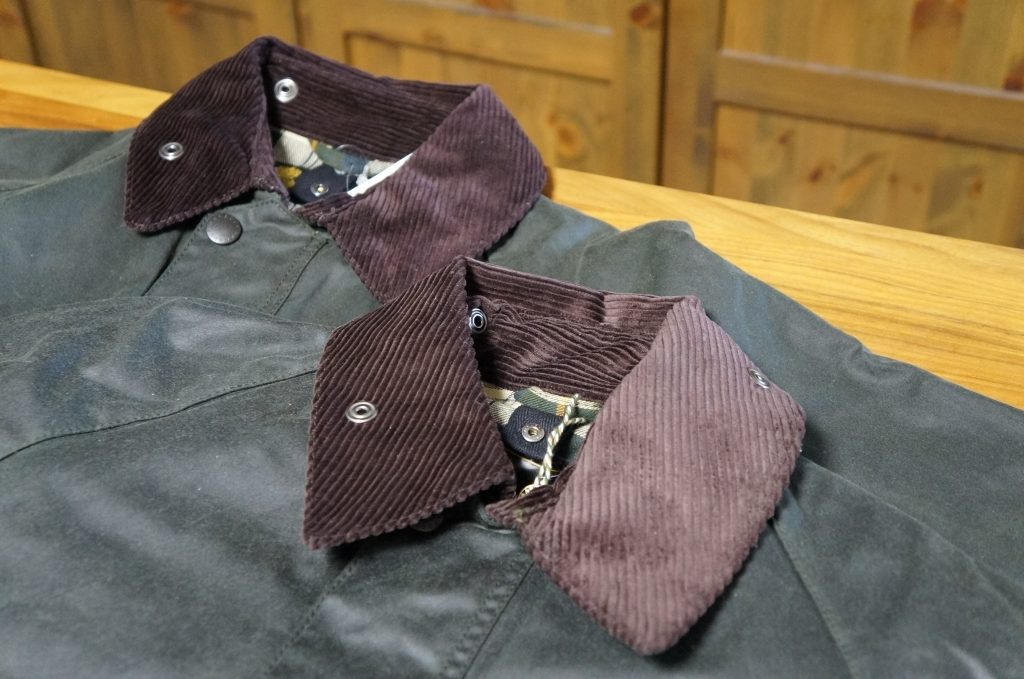 Barbour Bedaleを比較