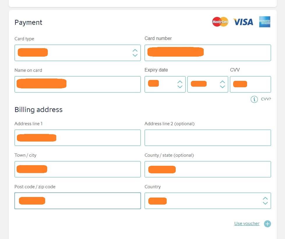 ユーロスターはクレジットカード支払い可能