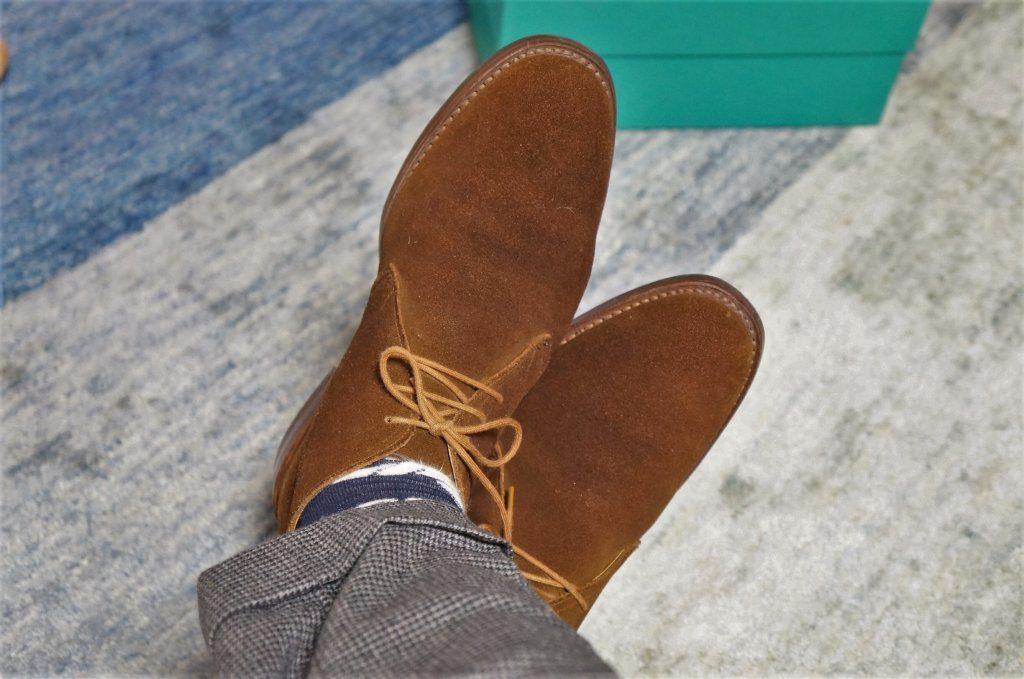 ブーツと足のむくみ