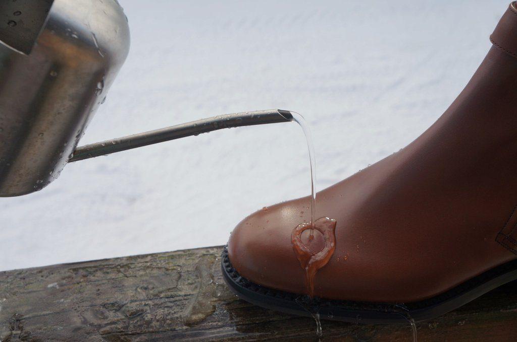 コロニル 1909 ワックススプレーの防水性能
