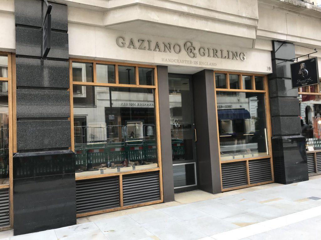 ガジアーノガーリング路面店