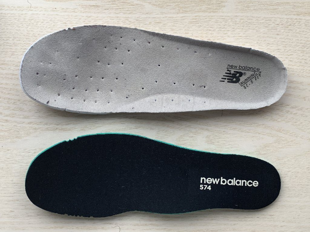 NEW BALANCE SL-2 M577 vs M574 Insoles
