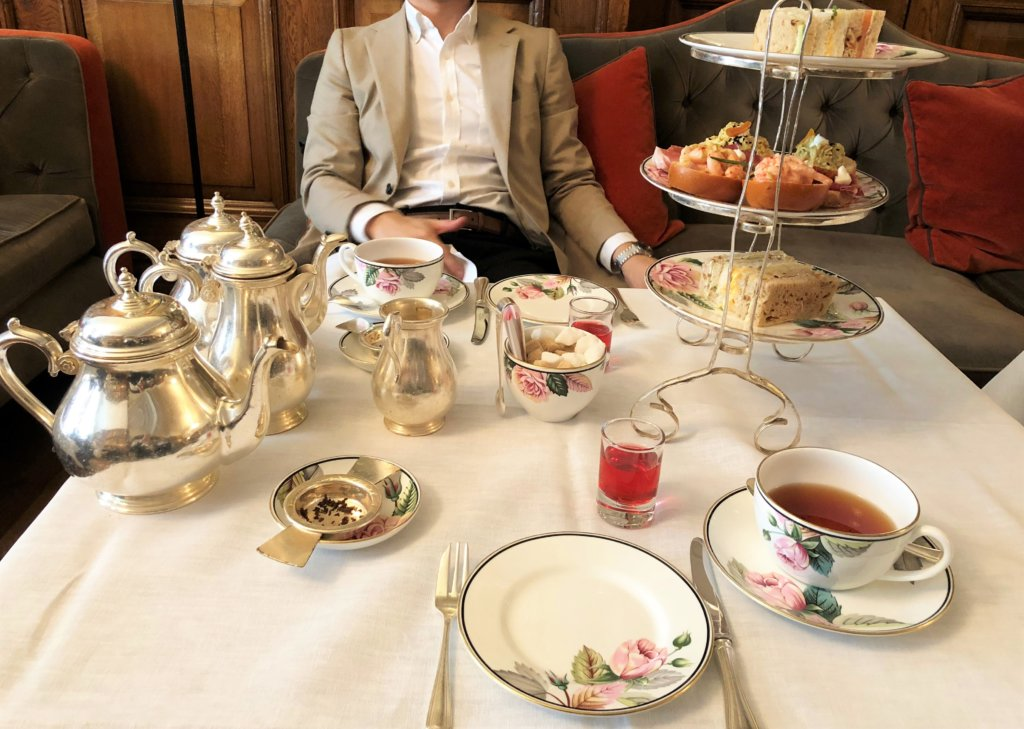 English Afternoon Tea - Browns Hotel