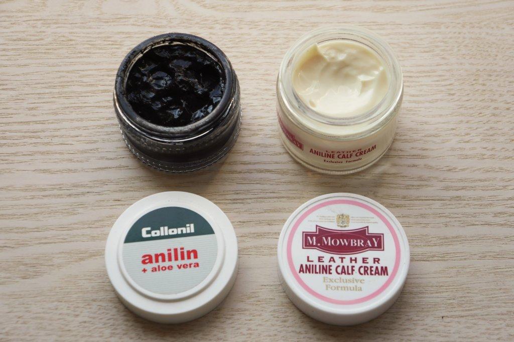 コロニル アニリンクリームとアニリンカーフクリームの比較
