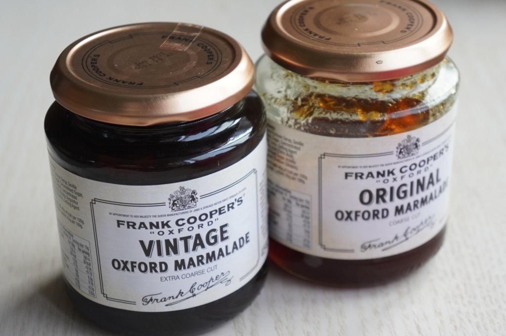 オリジナルマーマレードと瓶レージマーマレードを比較