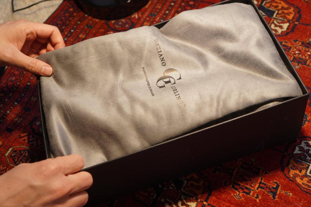 gaziano girling new shoes bag