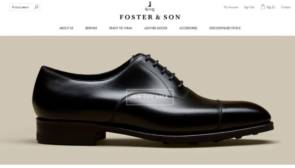 Foster & Son Sale