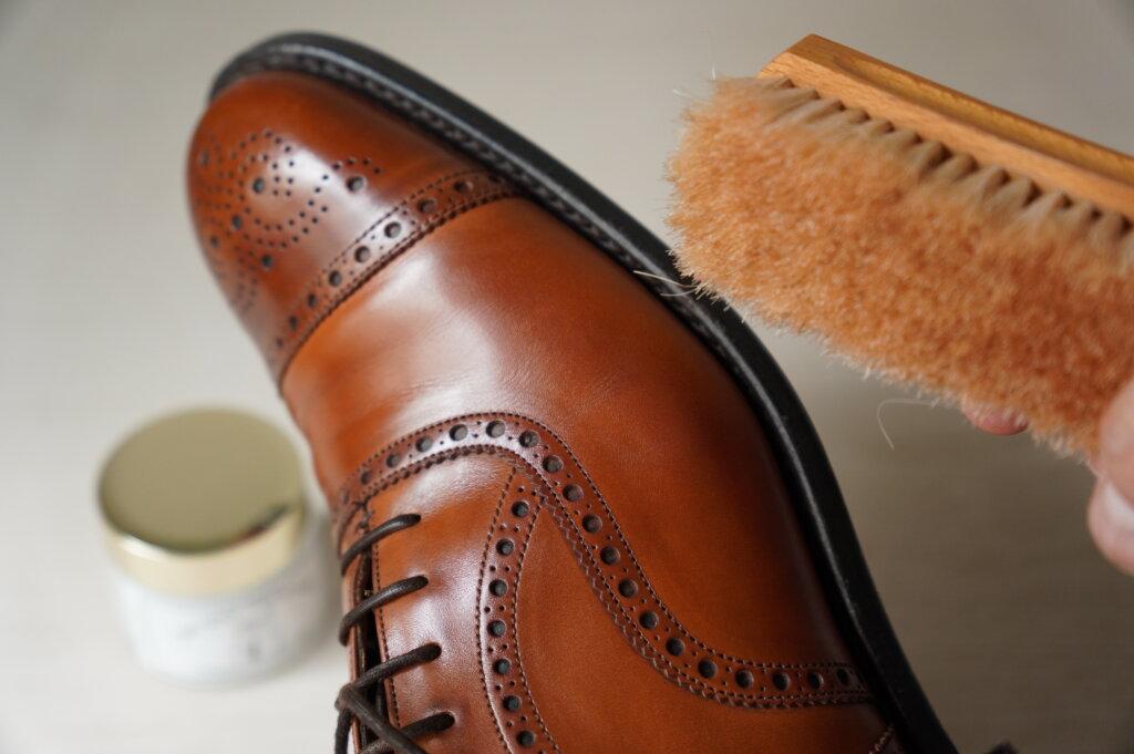 TWTG靴クリームの艶