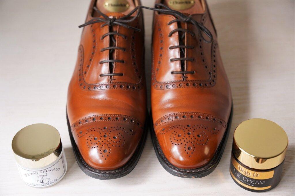 ブリフトアッシュとTWTGの靴クリームはどっちがオススメ?