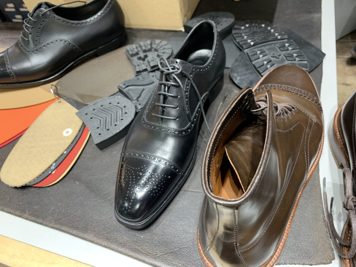 革靴修理のリファーレ札幌