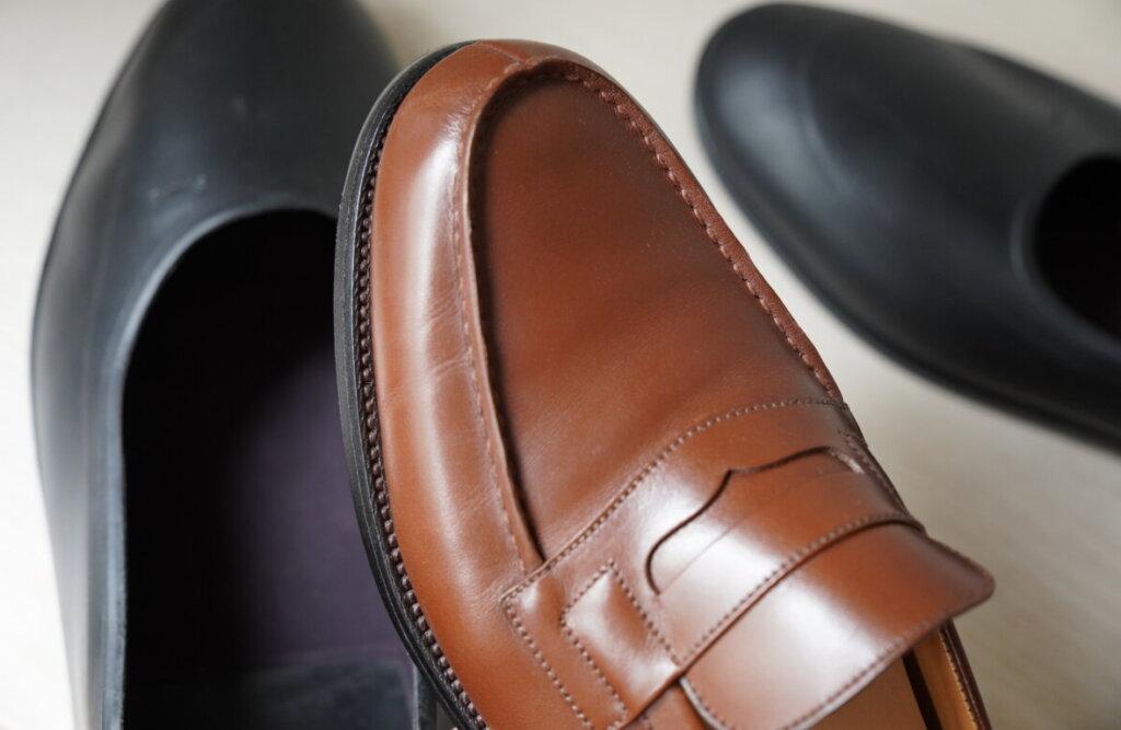 ガロッシュは革靴に傷がつかない