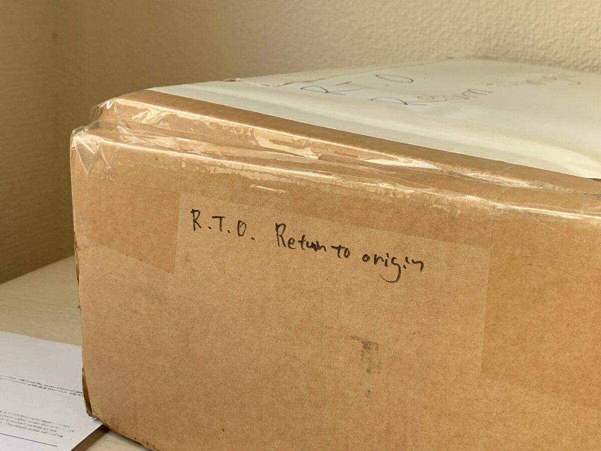 国際返品にはRTOを必ず記載する